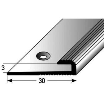 Einschubprofil 3 mm Aluminium 100 cm