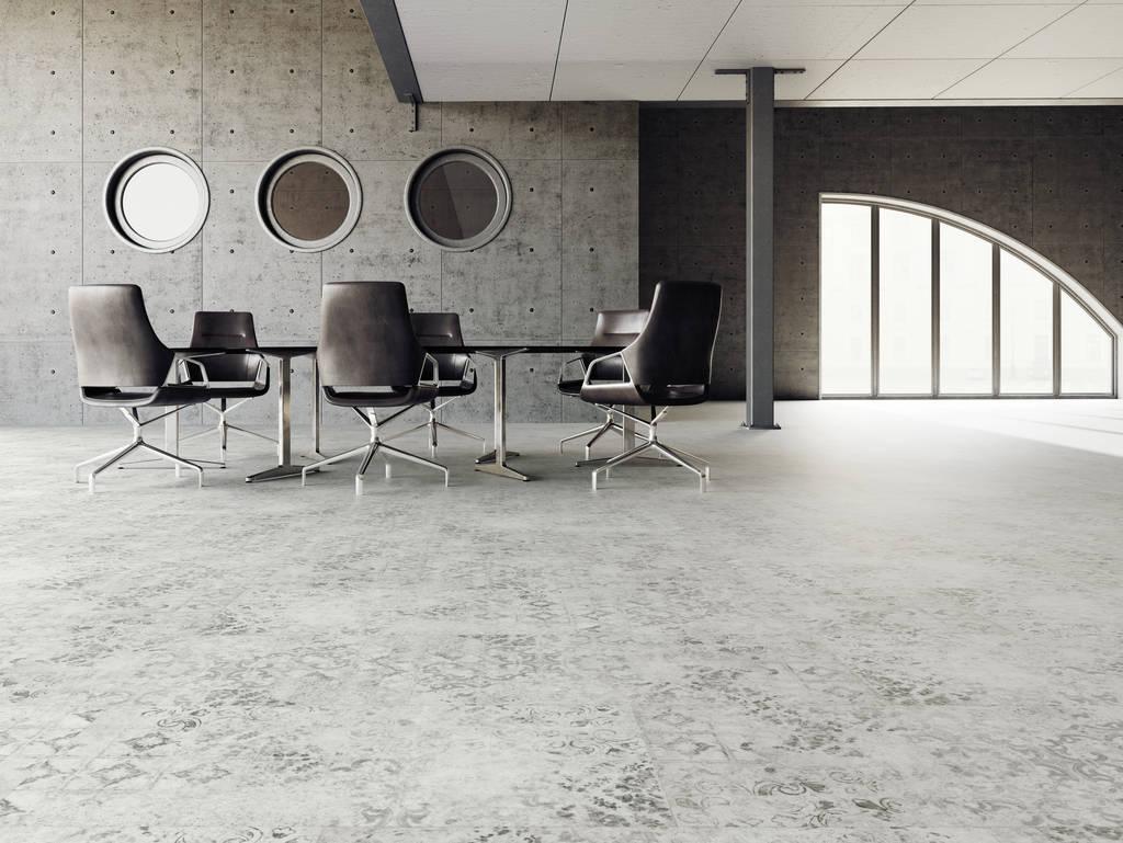Designbelag 555 Klebevariante Old Patch Grey