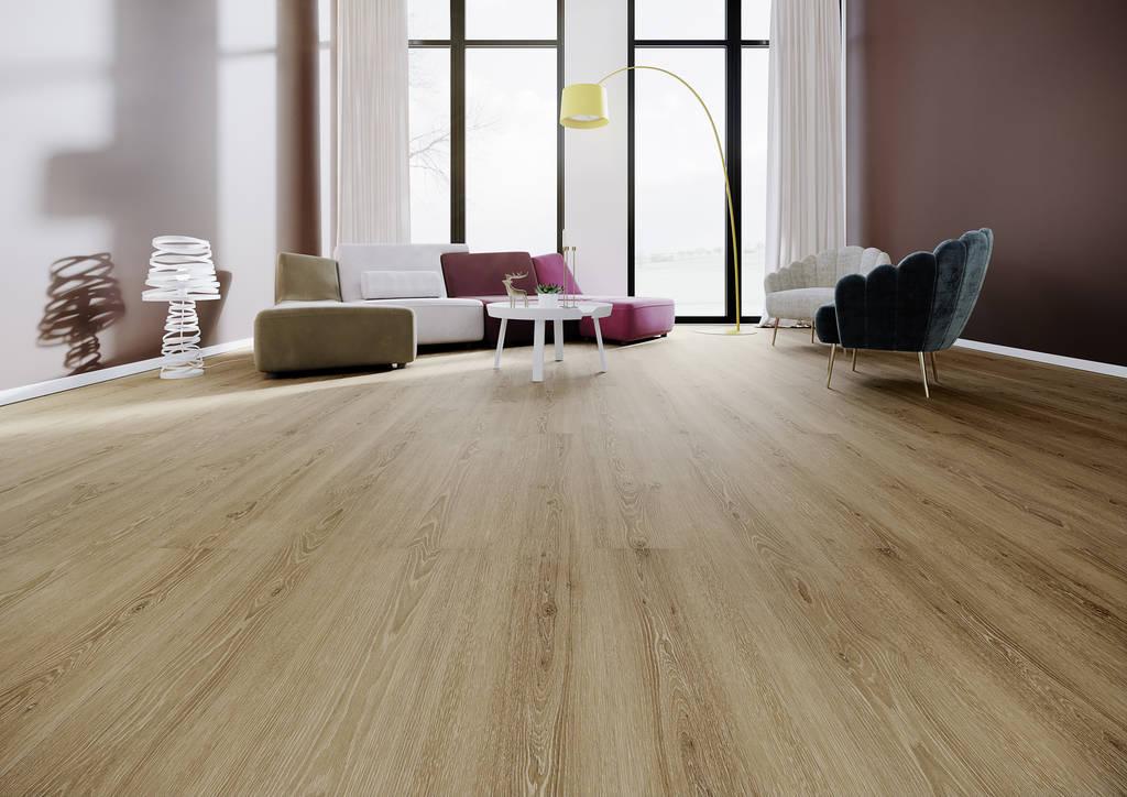 Designbelag 555 Deluxe Perfect Brown Oak Click