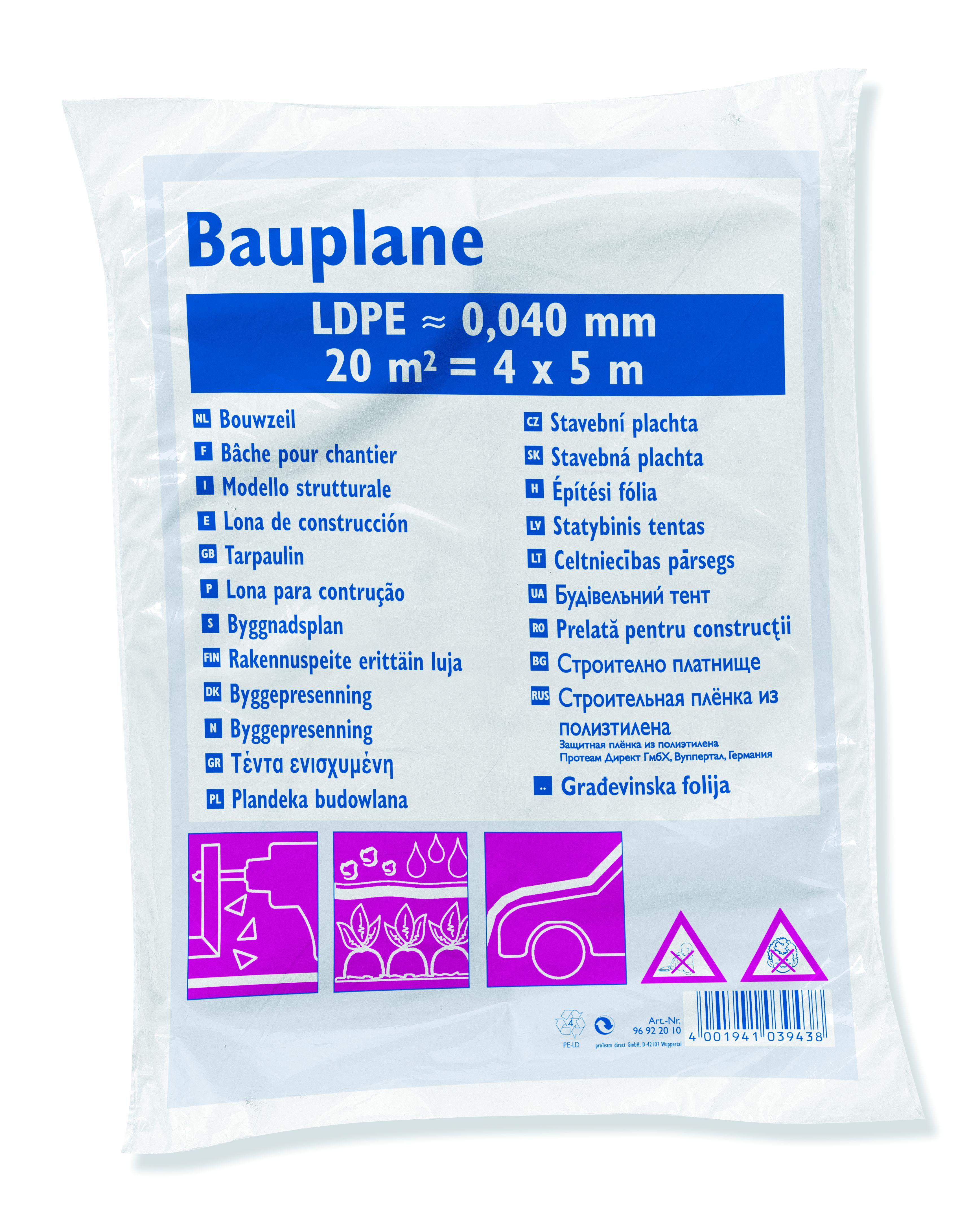 PaintMaster LDPE-Bauplane