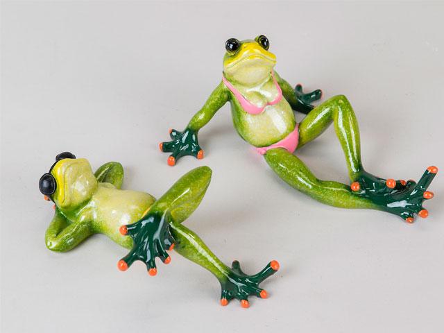 Frosch im Urlaub