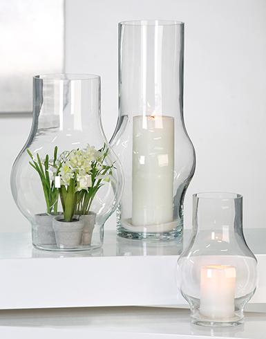 "Windlicht / Vase ""Bulb"""